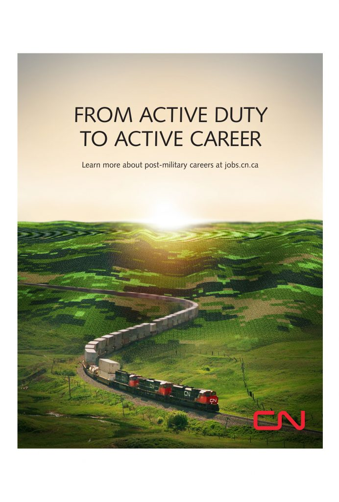 CN Rail Poster